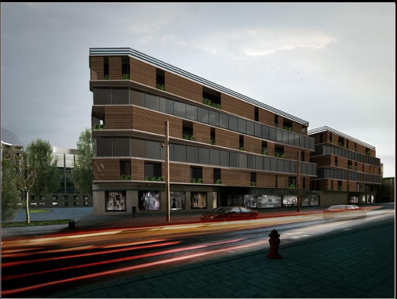 طراحی مجتمع مسکونی شهرزیبا