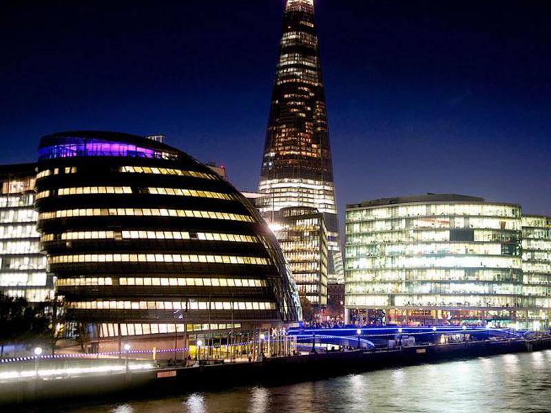 اطلاعات طراحی شهرداری لندن