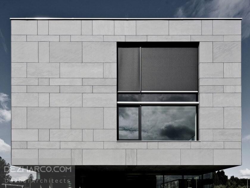 بررسی طراحی نما سیمانی ساختمان