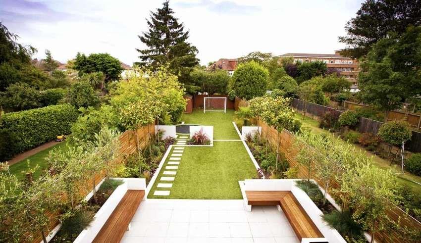 طراحی فضا سبز ویلا