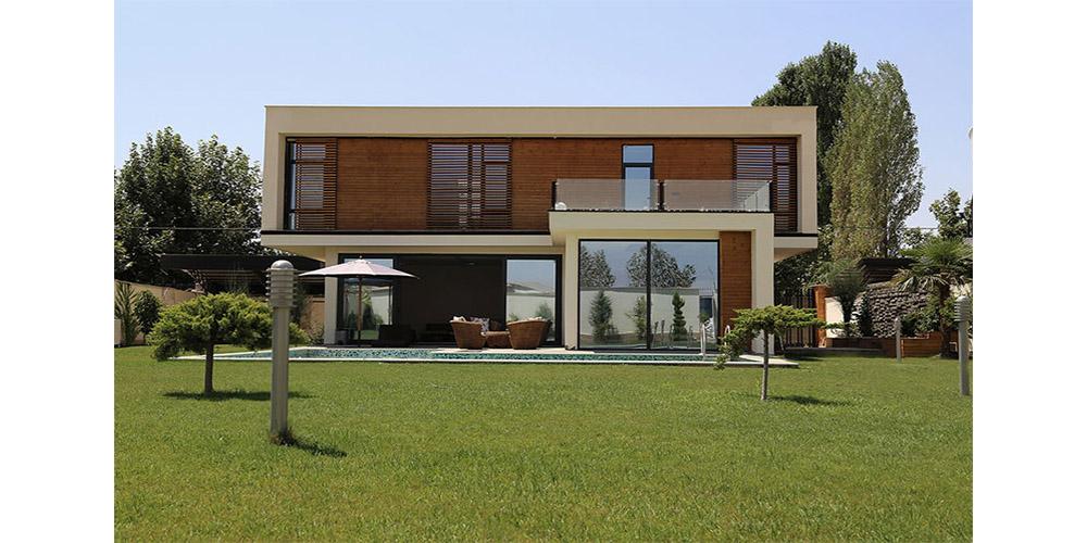 نمونه طراحی ویلا