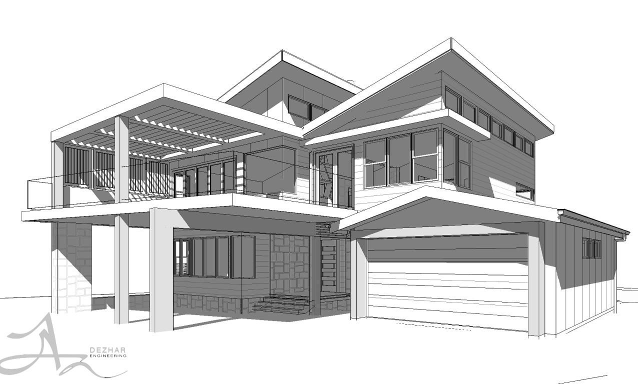 مراحل و اصول طراحی نمای ساختمان