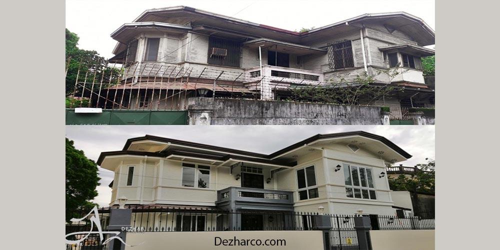 بازسازی خانه های قدیمی