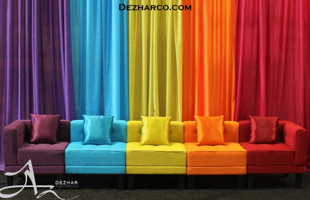 رنگ در دکوراسیون داخلی خانه