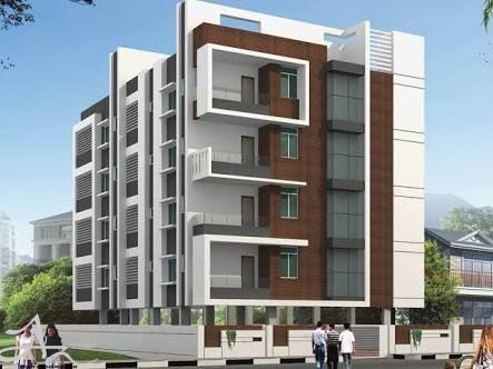 طراحی نما ساختمان 4 طبقه