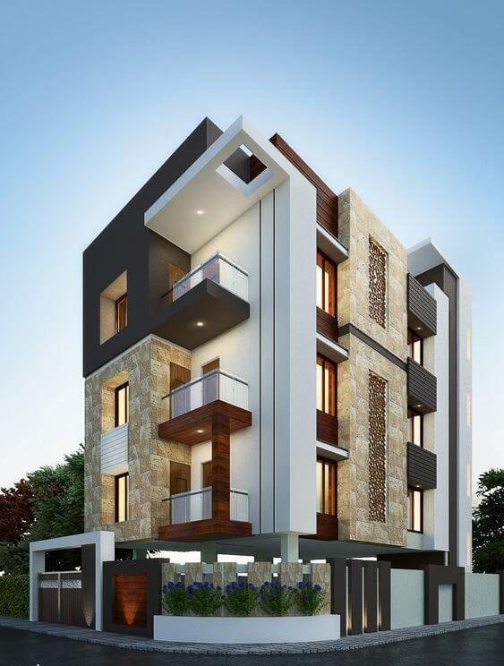 ضوابط طراحی نما ساختمان