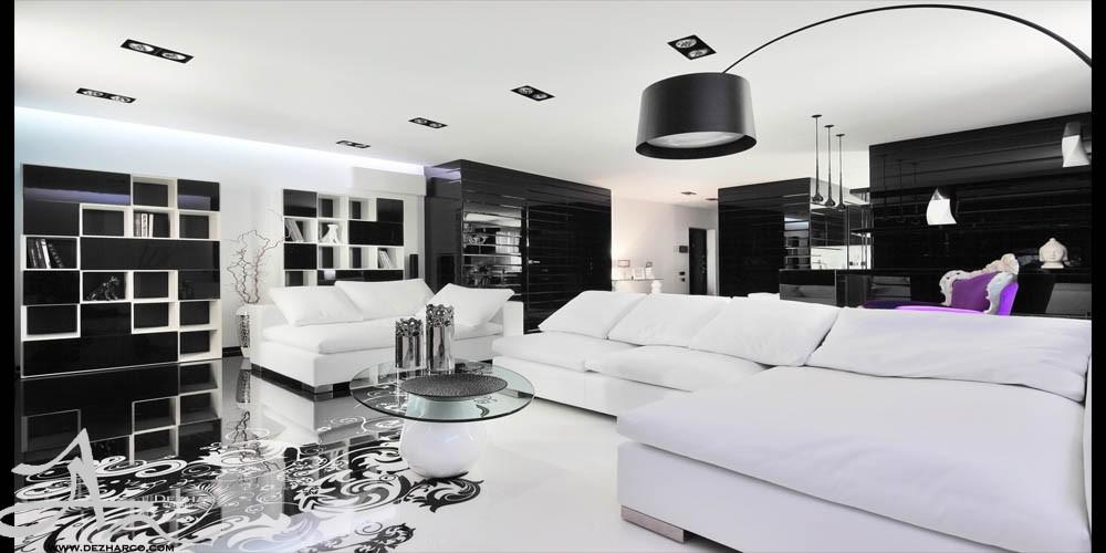 طراحی دکوراسیون داخلی white سفید