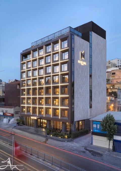facade deisng of hotel