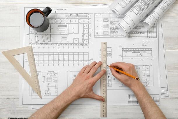 طراحی پلان مسکونی