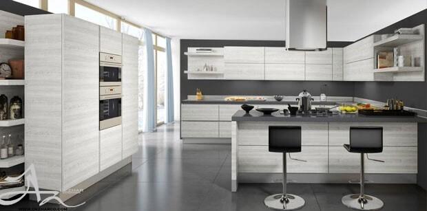 طراحی آشپزخانه دکوراسیون مدرن 2018