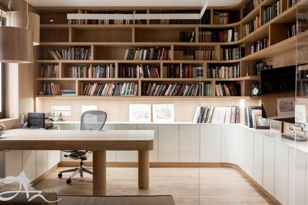 دکوراسیون داخلی مدرن home office