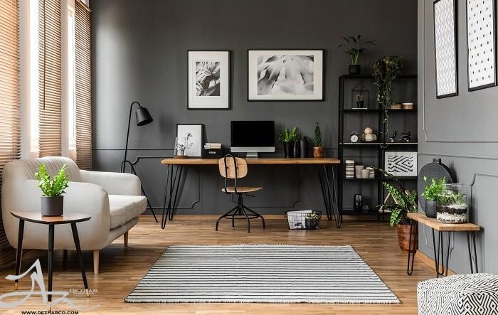 دکوراسیون داخلی دفتر در منزل