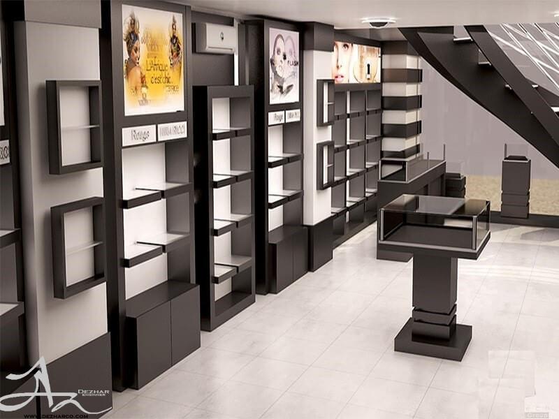 دکوراسیون داخلی فروشگاه mdf