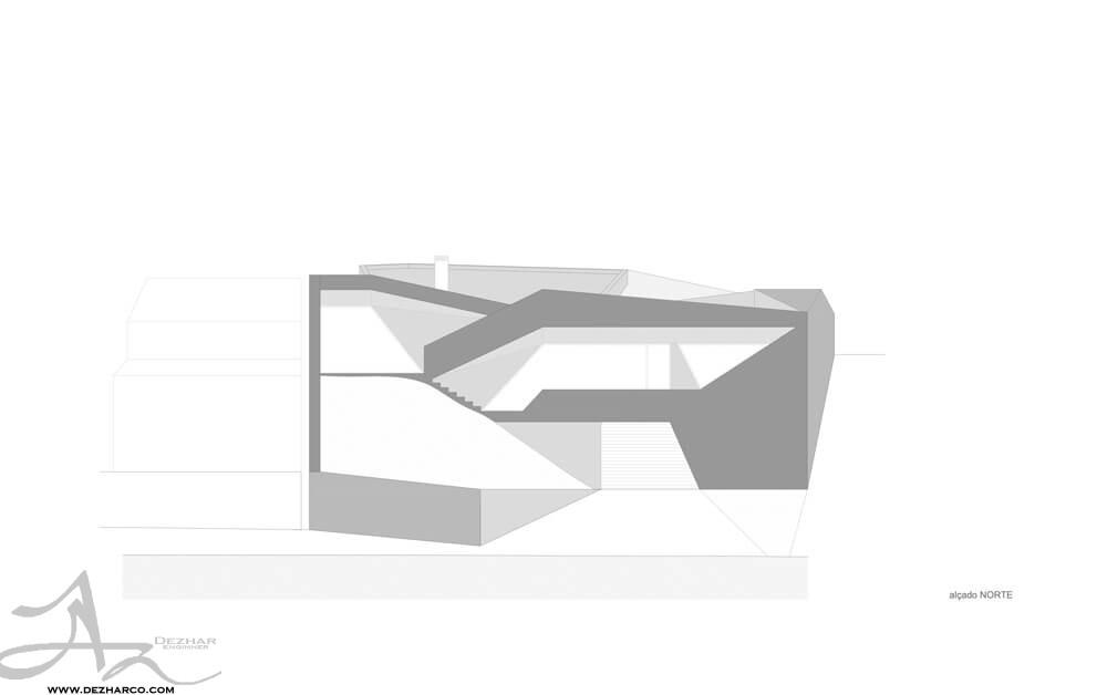 شماتیک نمونه طراحی ویلا