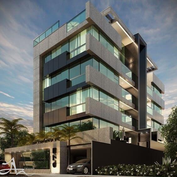 ساختمان پنج طبقه
