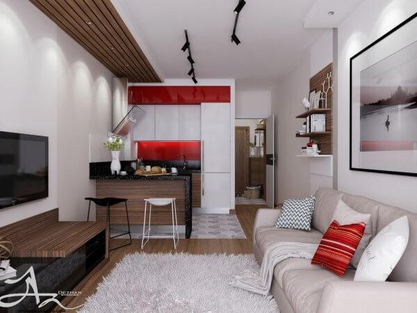 دکوراسیون داخلی آپارتمان 30 متری