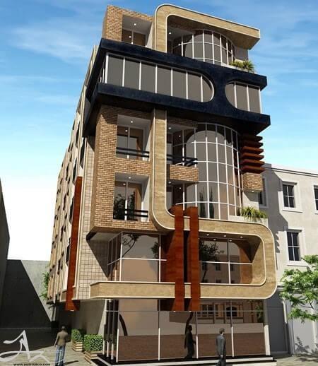 ضوابط طراحی نما منطقه شش تهران