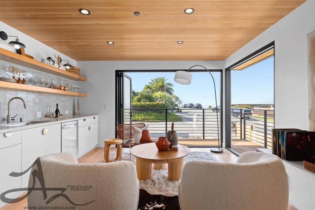 طراحی ویلا داخلی در کالیفرنیا
