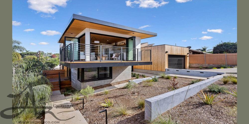 طراحی ویلا مدرن در کالیفرنیا