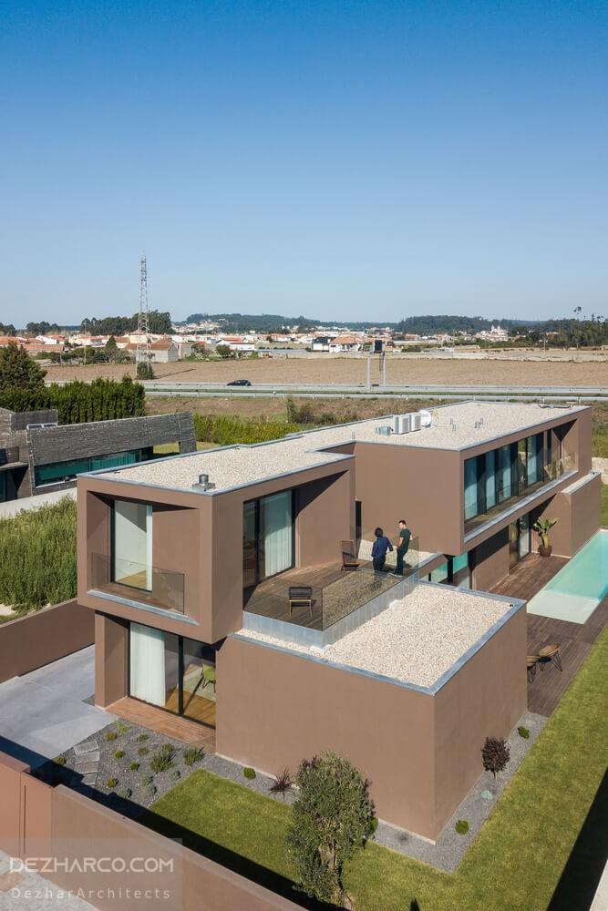 محوطه سازی و فضای سبز ویلا