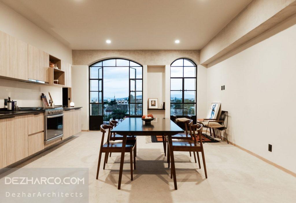 طراحی داخلی خانه میراث