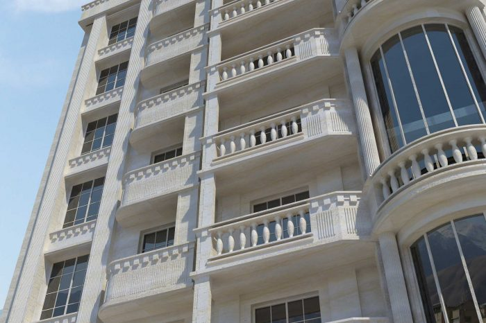 طراحی مجتمع مسکونی دژار